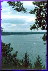 Scenic View from Lake of the Ozarks State Park