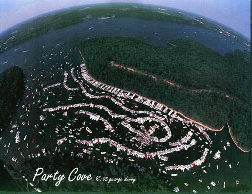 Lake ozarks party cove you have